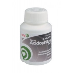 Super Acidophilus plus 6 miliard, 60 cps.