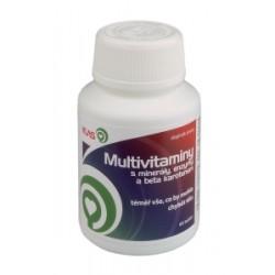 Multivitaminy minerály enzymy, 60 tbl.