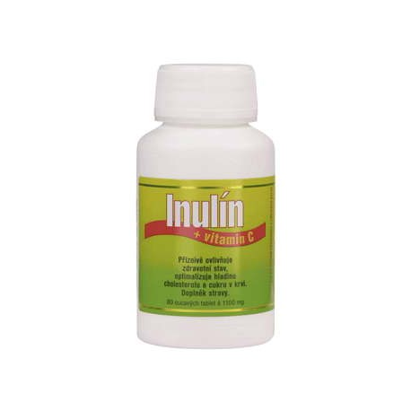 Inulín a vitamin C 80 tablet