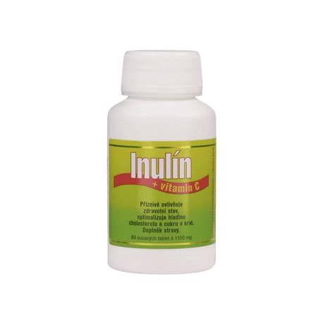 Inulín a vitamin C 80 tablet